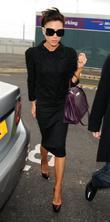 Victoria Beckham at Heathrow Airport London, England