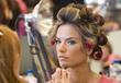Alessandra Ambrosio Victoria Secret Fashion Show Backstage Hair...