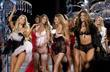 Models walk the runaway at the 2008 Victoria's Secret Fashion Show at the Fontainebleau Hotel