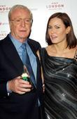 Michael Caine and Lynsey Stoppard