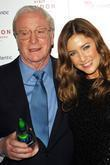 Michael Caine and Lisa Snowden