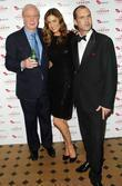 Michael Caine, Lisa Snowden and Johnny Vaughan