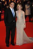 Oliver Stone and Elizabeth Banks