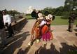 Mickey Mouse and Taj Mahal