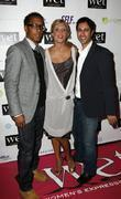 Andre Royo, Sabine Singh and Guest