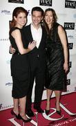 Debra Messing, David Alan Basche and Alysia Reiner