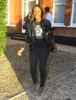 Alexandra Burke leaving the 'X Factor' house to...