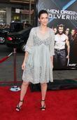Amanda Peet and Wolverine