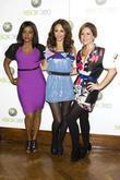 Keisha Buchanan, Amelle Berrabah and Heidi Range