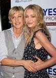 Ellen DeGeneres and Portia DeRossi
