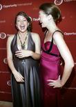 Liesel Pritzker and Elaine Compton attends The Young...