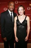 Mark Smalls and Jessica Flannery attend The Young...
