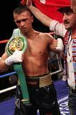 Selcuk Aydin Holding His Wbc International Championship Belt