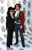Yoko Ono, Sean Lennon, New York Fashion Week