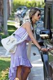 Brazilian Supermodel Alessandra Ambrosio Leaving A Friends House In Brentwood