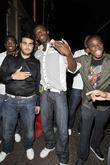 Usain Bolt Leaving Alto Nightclub With Friends
