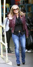 Anastacia Outside The 'this Morning' Television Studios