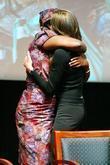 Angelina Jolie and Rose Mapeno