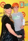 Charlotte Ross and son Maxwell Ross Goldman