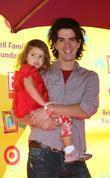 Hamish Linklater and Daughter