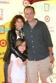 Jennifer Grey, Clark Gregg and daughter