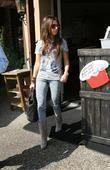 Ashley Tisdale leaving a bakery before going to...
