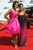 Omarosa Manigault-Stallworth and guest 2009 BET Awards held...