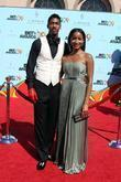 Fonzworth Bentley and Guest 2009 BET Awards held...
