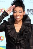 Monica 2009 BET Awards held at the Shrine...