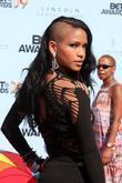 Cassie 2009 BET Awards held at the Shrine...