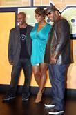 Steven Hill, Toccara Jones and Busta Rhymes