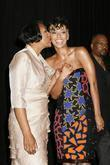 Keri Hilson and her mother 2009 BET Awards...