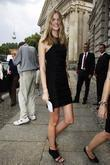 Julia Stegner -spokes Person For The Berlin Fashion Week- Arriving Hotel De Rome Across The Fashion Tent