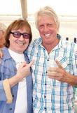 Bill Wyman and Harry Judd