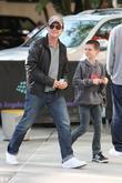 Christian Slater and his son Jaden