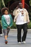 Randy Jackson and his son Jordan Jackson