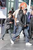 Christian Slater and son Jaden
