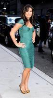 Lea Michele, David Letterman