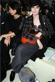 Erin O'Connor at the 25th Anniversary London Fashion...