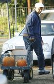 David Alan Grier visit Mr Bones Pumpkin Patch in West Hollywood