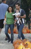 Chad Lowe, Kim Painter and Baby Daughter Mabel Painter Lowe