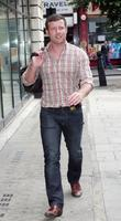 Dermot O'leary Outside Bbc Radio 2 Studios