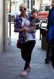 Christina Aguilera and Her Son Max