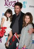 Dylan McDermott with his daughters Colette