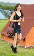 Daisy Lowe  at Glastonbury Festival  28.06.09