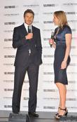 David Beckham and Gabby Logan