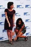 Robin Givens and Judge Jeanine Pirro