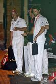 Andrew Strauss, Graeme Swann and Graham Onions The...