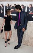 Alexis Dziena and Adrian Grenier  The 'Entourage'...