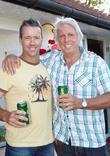 Stuart Law and Eric Clapton